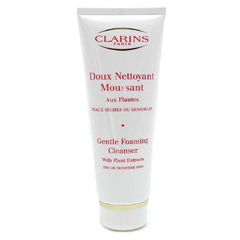 Clarins Gentle Foaming Cleanser For Sensitive Skin