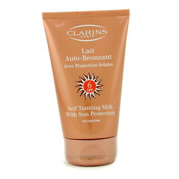 Clarins Self Tanning Milk SPF 6 125ml 4.2oz