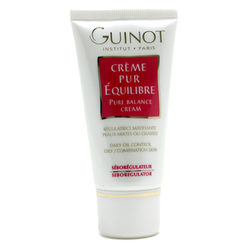Guinot Pure Balance Cream - Daily Oil Control ( For Combination or Oily Skin )