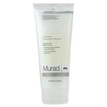buy Murad AHA/BHA Exfoliating Cleanser 200ml/6.75oz  skin care shop