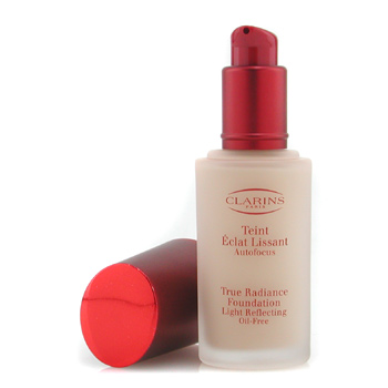Clarins True Radiance Base maquillaje Light Reflecting Oil Free - #04 Latte/ Cafe Cream
