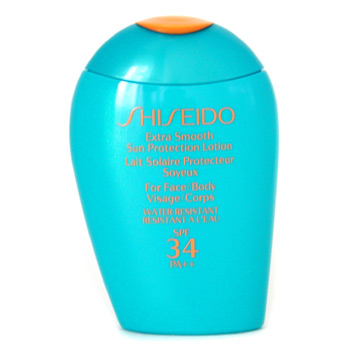 Para a pele da mulher, Shiseido, Shiseido Extra Smooth Sun Protection Lotion SPF 34 PA++ 100ml/3.4oz