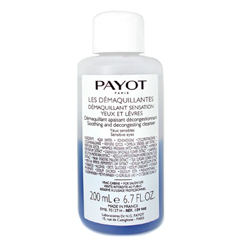 buy Payot Demaquillant Sensation for Yeux/Levres (Salon Size) 200ml/6.7oz  skin care shop
