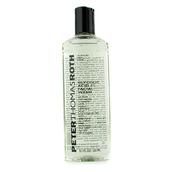 buy Peter Thomas Roth Glycolic Acid 3% Facial Wash 240ml/8oz  skin care shop