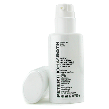 buy Peter Thomas Roth Max All Day Moisture Defense Cream SPF 30 50g/1.7oz  skin care shop