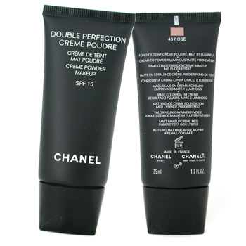 Chanel Polvos Crema Double Perfection SPF 15 - 45 Rose