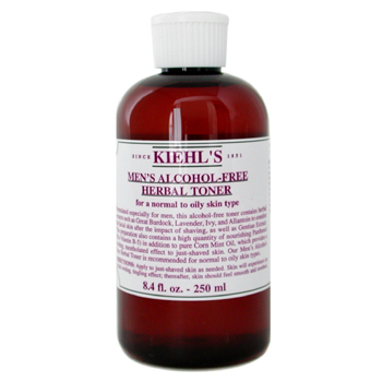 Kiehl`s Men`s Alcohol-Free Herbal Toner ( Normal to Oily Skin ) 250ml/8.4oz