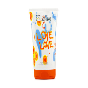 buy Moschino I Love Love Perfumed Bath & Shower Gel 200ml/6.7oz  skin care shop