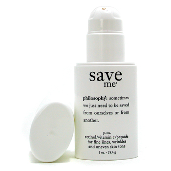 Philosophy Save Me - Retinol  Vitamin C  Peptide Treatment ( Fine Lines  Uneven Skin Tone )