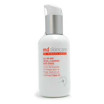 MD Skincare All-In-One Facial Cleanser with Toner