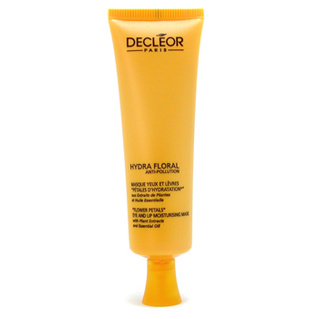 Decleor Hydra Floral Anti-Pollution Flower Petals Máscara Hidratante Labios y Ojos