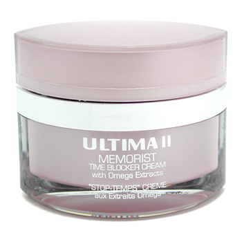 Ultima Memorist Time Blocker Cream with Omega Extracts - Crema con Extractos Omega