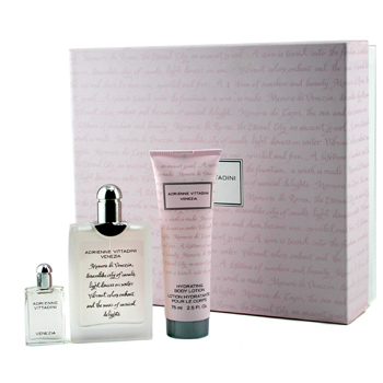 Adrienne Vittadini Adrienne Vittadini Coffret: EDP Spray 50ml + Parfum 7ml + Body Lotion 75ml,Adrienne Vittadini,Ladies Fragrance
