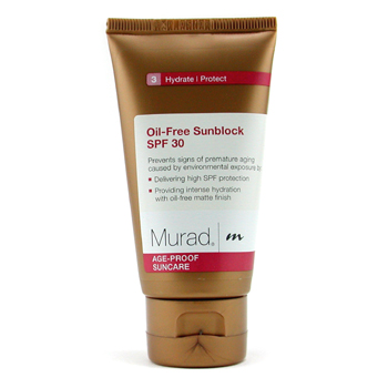 Murad Oil-Free Sunblock SPF 30 for Face - Pantalla Solar Rostro
