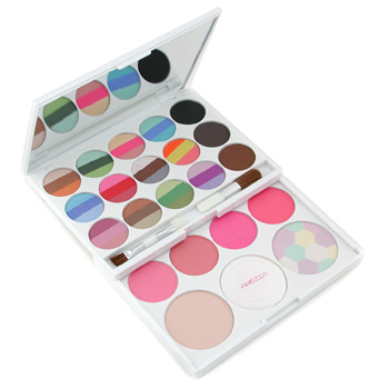 MakeUp Kit AZ 01205 - Eye Shadow, Blush, Brow Powder, Powder