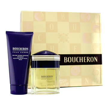 Boucheron Boucheron Men Coffret: Eau De Toilette Spray 50ml + After Shave Balm 100ml 2pcs