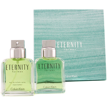 Perfumes masculinos, Calvin Klein, Calvin Klein Eternity Coffret: perfume Spray 100ml + After Shave Lotion Splash 100ml 2pcs