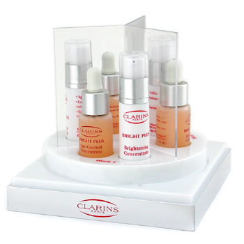 Para a pele da mulher, Clarins, Clarins Bright Plus Intensive Age-Control Brightening Program ( 3 Weeks Treatment ) 6x 6ml