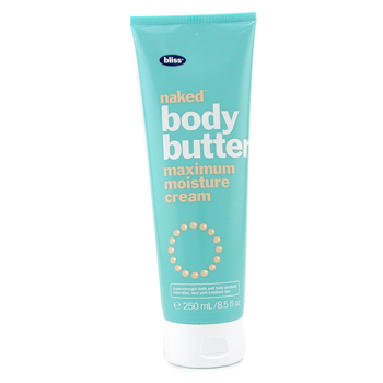 Bliss Naked Body Butter Maximum Moisture Cream - Crema Hidratante Corporal