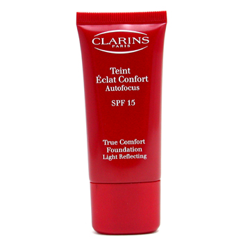 Clarins True Comfort Base de Maquillaje Light Reflecting - Base Maquillaje SPF 15 #13 Chestnut