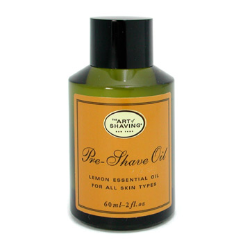 The Art Of Shaving Pre Shave Oil - Lemon Essential Oil ( Unboxed  For All Skin Types )