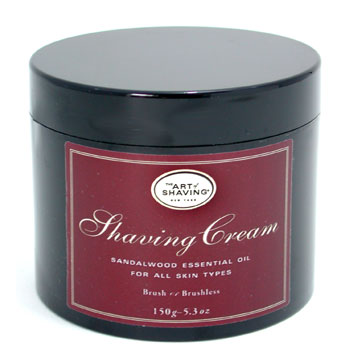The Art Of Shaving Shaving Cream - Sandalwood Essential Oil ( Unboxed  For All Skin Types )
