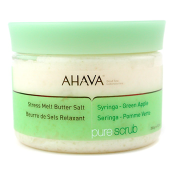 Ahava Stress Melt Butter Salt - Syringa Green Apple,Ahava,Skincare