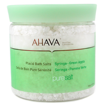 Para a pele da mulher, Ahava, Ahava Placid Bath Salt - Syringa Green Apple 500g/17.5oz