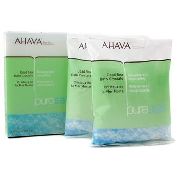 Para a pele da mulher, Ahava, Ahava Dead Sea Bath Crystals 2x250g