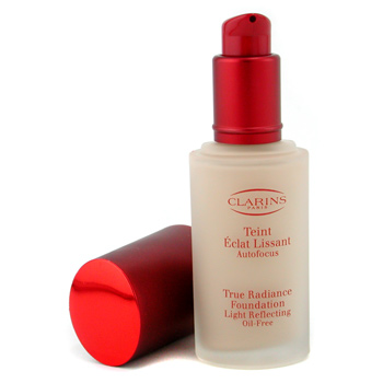 Clarins True Radiance Base Maquillaje Light Reflecting Oil Free - #01 Natural
