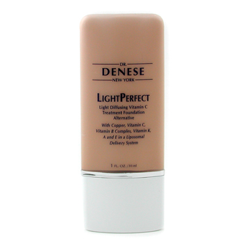 Dr. Denese LightPerfect Light Diffusing Vitamin C Foundation - Light