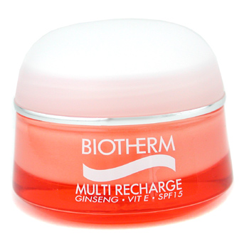 Para a pele da mulher, Biotherm, Biotherm Multi Recharge Daily Protective Energetic Moisturiser SPF 15 ( For Normal & Combination Skin ) 50ml/1.69oz
