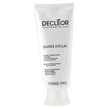 buy Decleor Source D' Eclat - Instant Radiance Moisturiser (Salon Size) 100ml/3.3oz  skin care shop