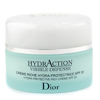 Para a pele da mulher, Christian Dior, Christian Dior HydrAction Visible Defense Hydra Protective Rich Cream SPF20 50ml/1.7oz