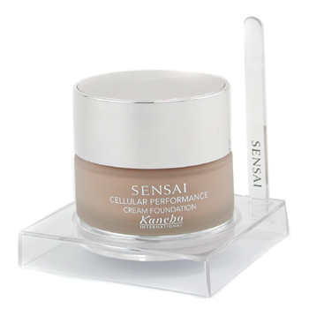 buy Kanebo Sensai Cellular Performance Cream Foundation SPF15 - CF12 Summer Breeze 30ml/1.01oz by Kanebo skin care shop