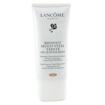 57cc5295299 Lancome Bienfait Multi Vital Teinte High Potency Tinted Moisturizer SPF30 -  # 2 Sand ( Made in USA )