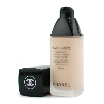 Chanel Mat Lumiere Long Lasting Luminous Maquillaje Fluido Mate SPF15 - # 20 Clair
