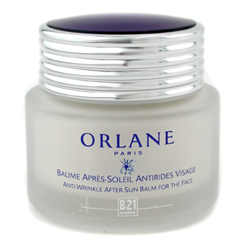 Orlane B21 Anti-Wrinkle After Sun Bálsamo For Face/ Bálsamo para después exposición Solar anti-envej
