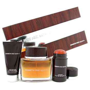 Kenneth Cole Signature Estuche: Agua de Colonia Vaporizador 100ml+ Bálsamo AS 75ml+ Desodorante Stic