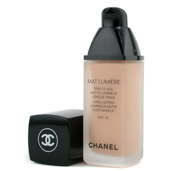 Chanel Mat Lumiere Long Lasting Luminous Maquillaje Fluido Mate SPF15 - # 44 Ginger
