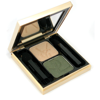 Yves Saint Laurent Ombre Duo Lumiere Sombra Dúo Ojos - No. 07 Antique Gold/ Bronze Green