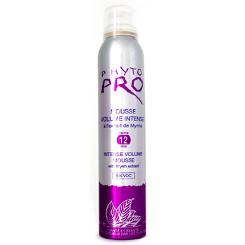 Hair With Mousse In It. Phyto