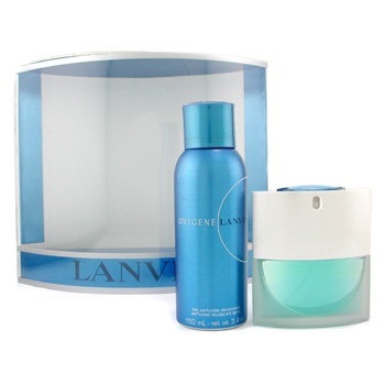 Lanvin Oxygene Coffret : Edp Spray 50ml + Deodorant Spray 150ml 2pcs
