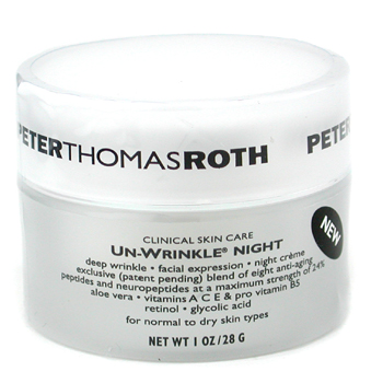 buy Peter Thomas Roth Un-Wrinkle Night Cream 28g/1oz skin care shop