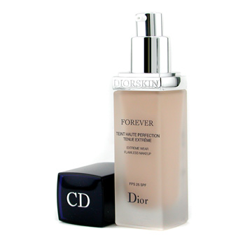 Christian Dior DiorSkin Forever Extreme Wear Flawless Makeup SPF25 - Base Maquillaje # 010 Ivory