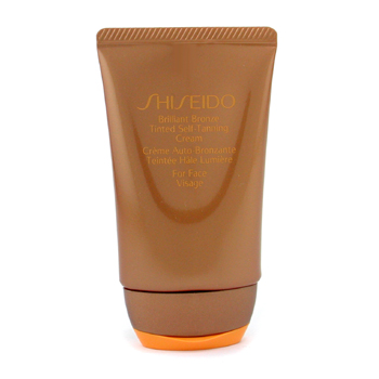 Brilliant Bronze Tinted Self-Tanning Cream - Medium Tan - For Face
