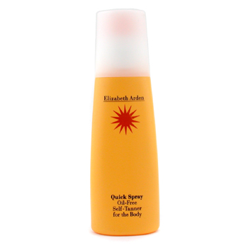 Elizabeth Arden Quick Spray Oil-Free Self-Tanner For the Body ( Unboxed )