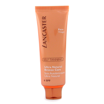 Lancaster Self Tanning Ultra Natural Bronze Care - Autobronceador Natural SPF6 ( Rostro )