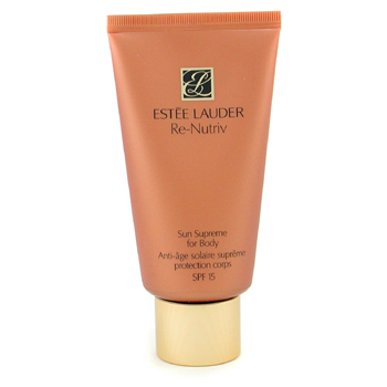Estee Lauder Re-Nutriv Sun Supreme For Body - Crema Nutriente para después del Sol SPF 15