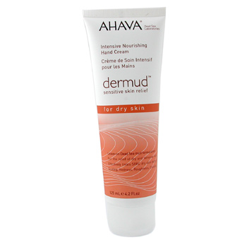 Para a pele da mulher, Ahava, Ahava Dermud Intensive Nourishing Hand Cream 125ml/4.2oz